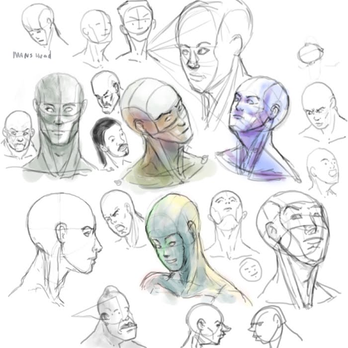 Tony Neto Sketchbook Mans%2Bhead%2Bcopy
