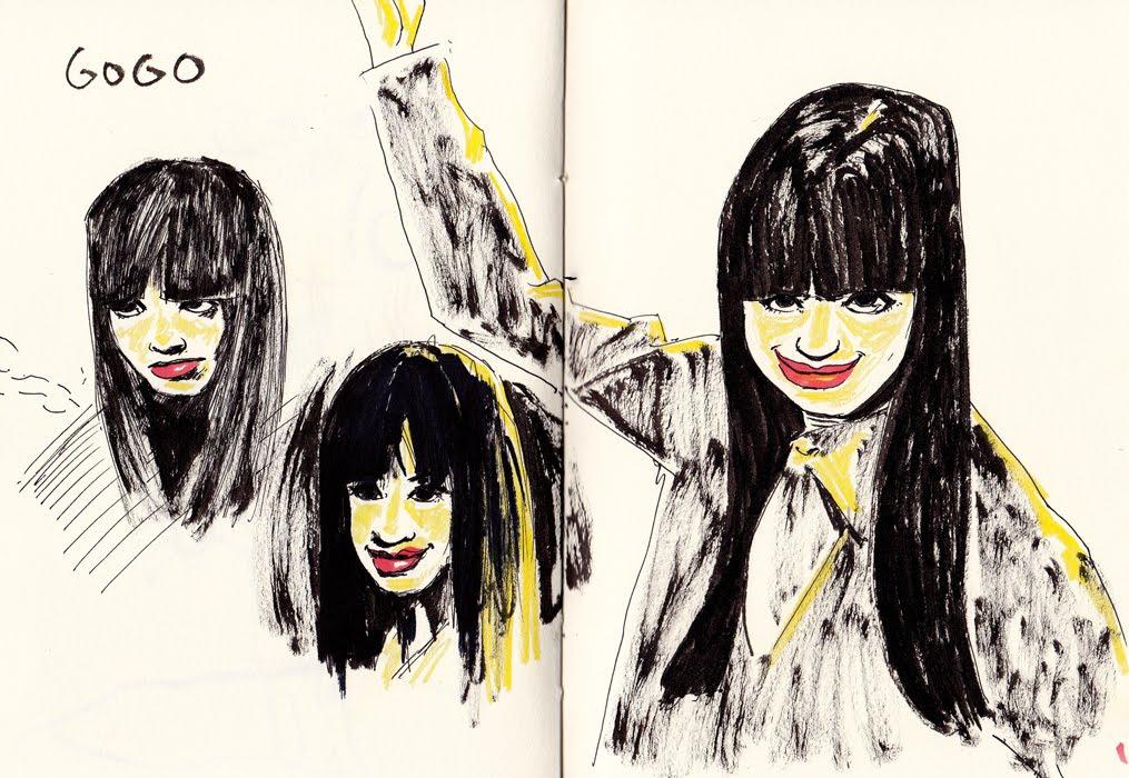 Tony Neto Sketchbook Gogo