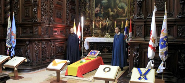 Funeral de Don Carlos Hugo I