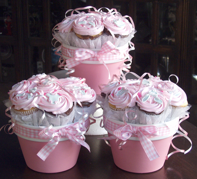 "Are these not ""adorable""!! And what a cute idea for a baby shower!"