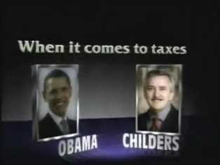 Graphic from anti-Childers ad