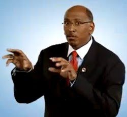 Michael Steele looking surprised