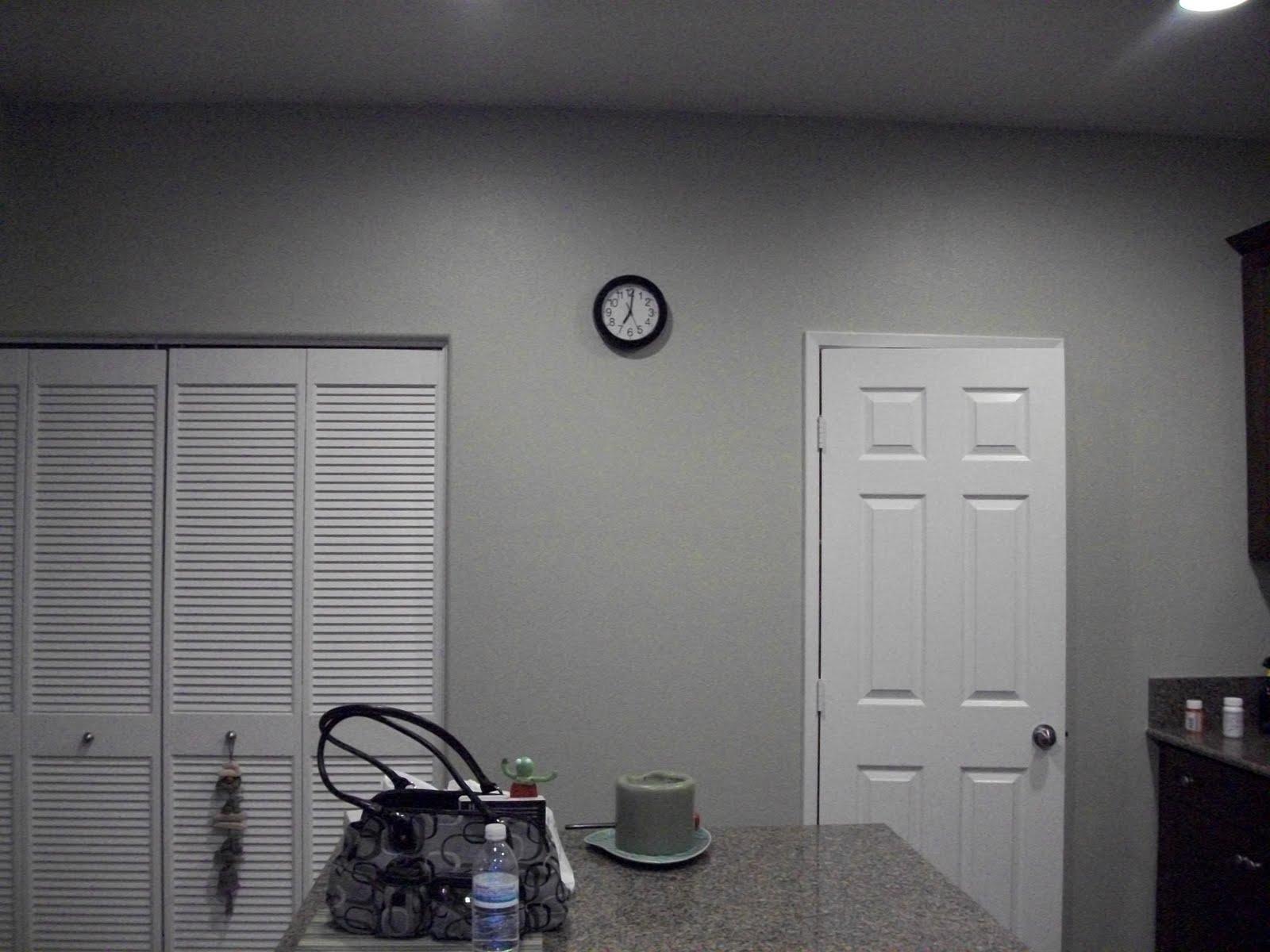 Brown Kitchen Kitchen Wall Sage Green