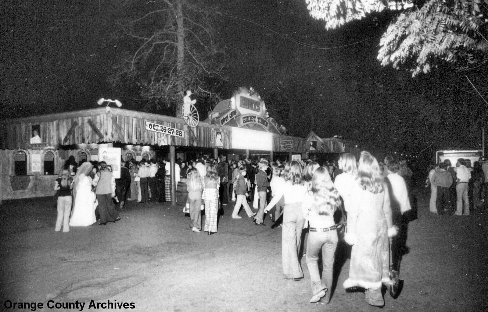 O.C. History Roundup: Knott's first Halloween Haunt, 1973