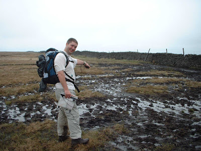 Buckden Pike was a particularly wet place in 2004