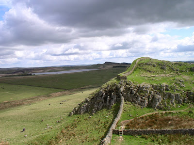The Cuddy's Crag section of Hadrian's Wall