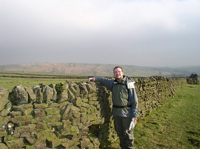 I celebrated passing my driving test by heading out to Grassington for a walk