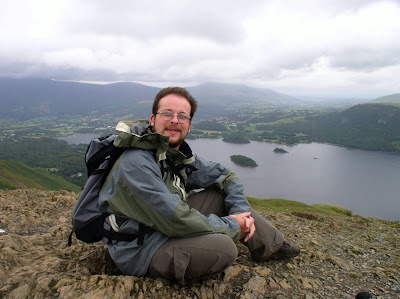 On Cat Bells - my first Wainwright