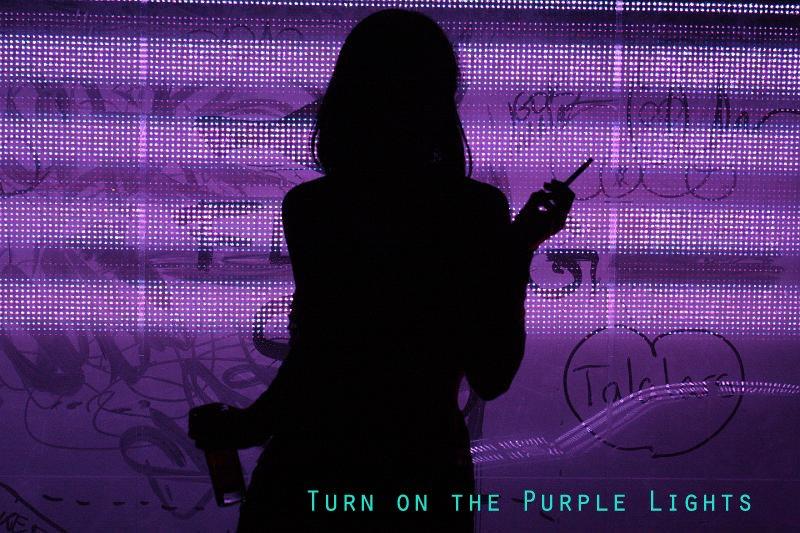 Turn On The Purple Lights