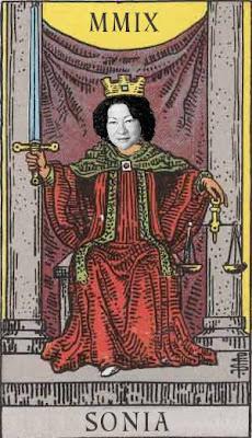 justice sonia sotomayor tarot card
