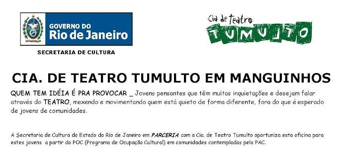 CIA. DE TEATRO TUMULTO EM MANGUINHOS