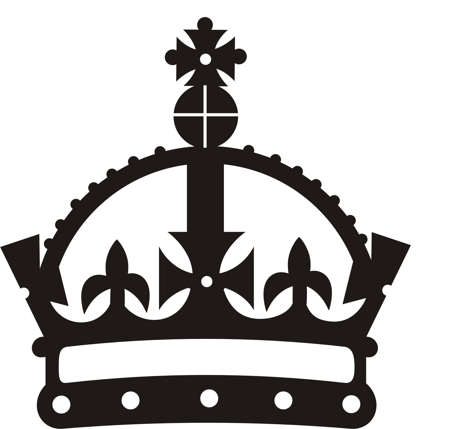 Clip Art: CROWN 02