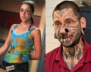Face Tattoo n Tindik
