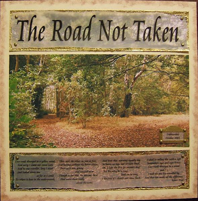 symbolism of the journey in robert frosts the road not taken Essay on religious symbolism in robert frost's the road not taken   comparing and contrasting the symbolism in literary journey's introduction in.