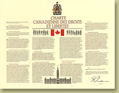Canadian Charter of Rights and Freedoms / Charte Canadienne des droits et libertés (1982)