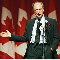 """OUR FOREFATHERS WILLED THIS COUNTRY INTO BEING"" Canadian Prime Minister Pierre Elliot Trudeau,1976"