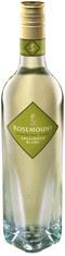 diamond bottle four point base glass wine vessel rosemount estates sauvignon blanc