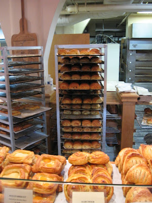 le fromentier bakery on laurier 7.30 am on my birthday june 22 danishes les agrumiers