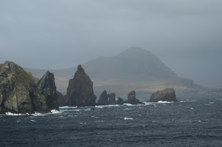 Cape Horn Rocks waiting for rampant skipper