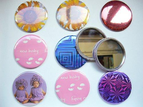 La chica del lunar espejos de bolsillo - Espejos de bolsillo ...
