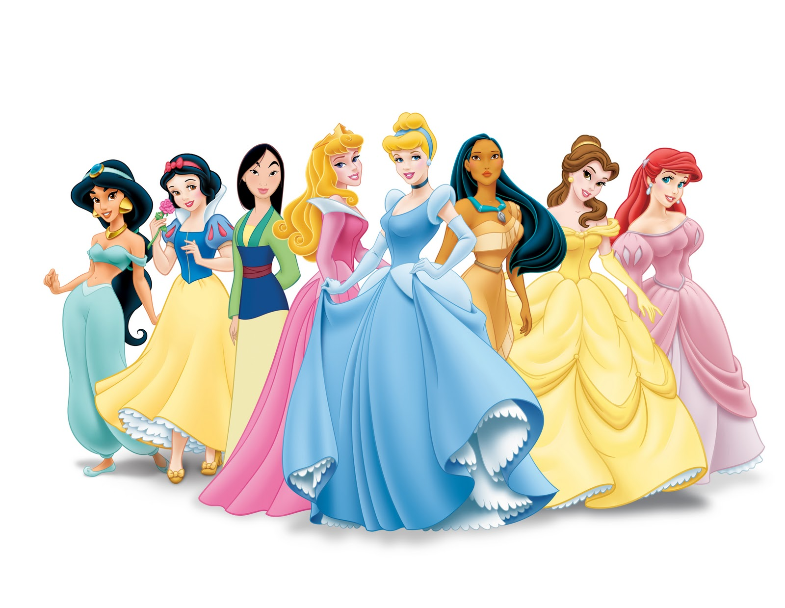 There are lots of princesses