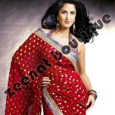 Katrina Kaif in saree ( Zeenat Style )