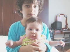 João Gustavo e Julia Fernanda