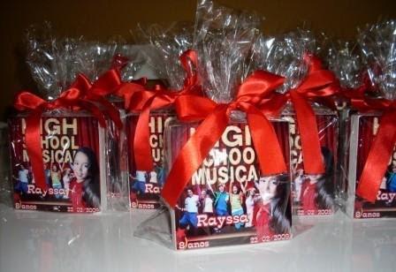Caixa high school musical