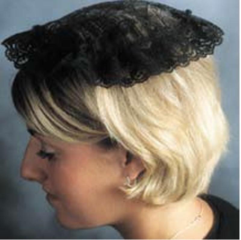 Hair veils for church