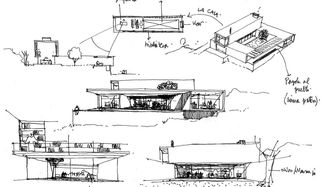 Dibujos de arquitecto architect drawings pensando en la - Trabajo arquitecto barcelona ...