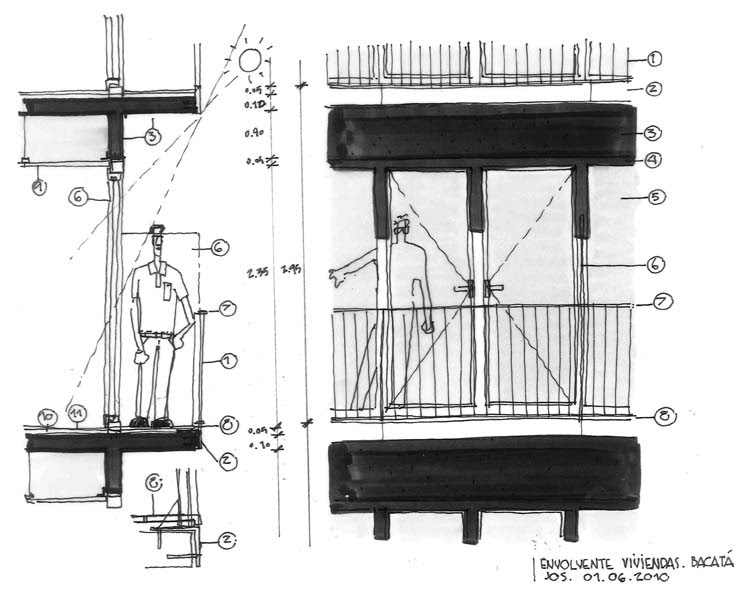 Dibujos de arquitecto architect drawings 100601 - Trabajo arquitecto barcelona ...