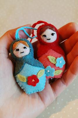 gift present: mini matryoshkas