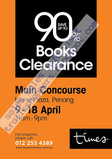Times Books Clearance - Penang