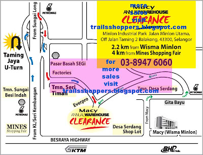 ★macy Annual Warehouse Clearance Sale 24 Oct 27 Oct 2008
