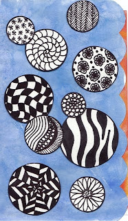 Zentangle Bubbles