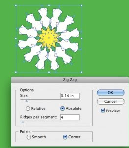 How To Use The Rotate Tool To Make A Simple Flower Tutorial Illustrator CS4