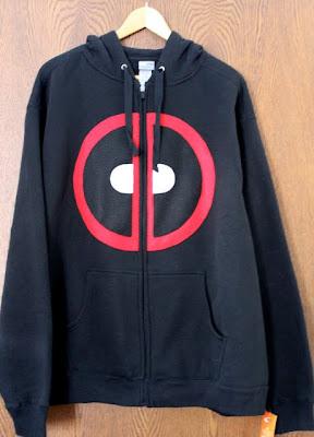 deadpool hooded sweatshirt hoodie