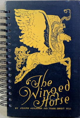 Handmade Art Journal From The Book The  Winged Horse
