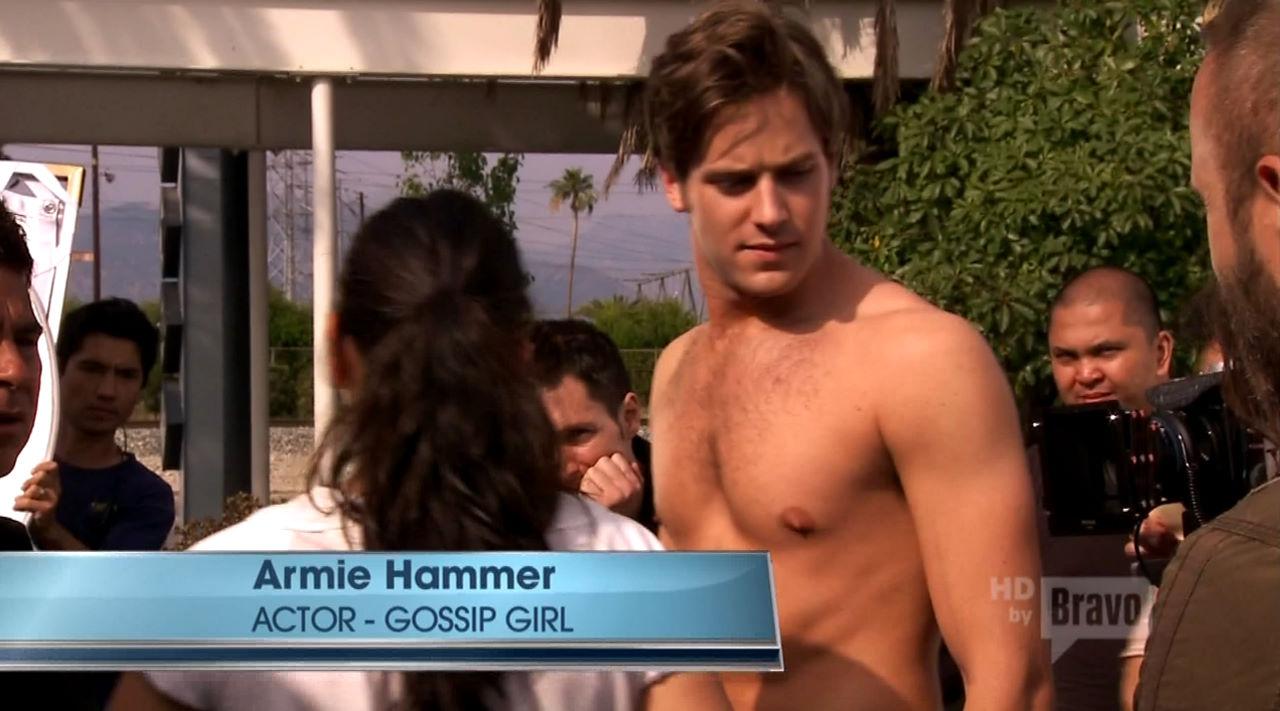 armie hammer gossip girl
