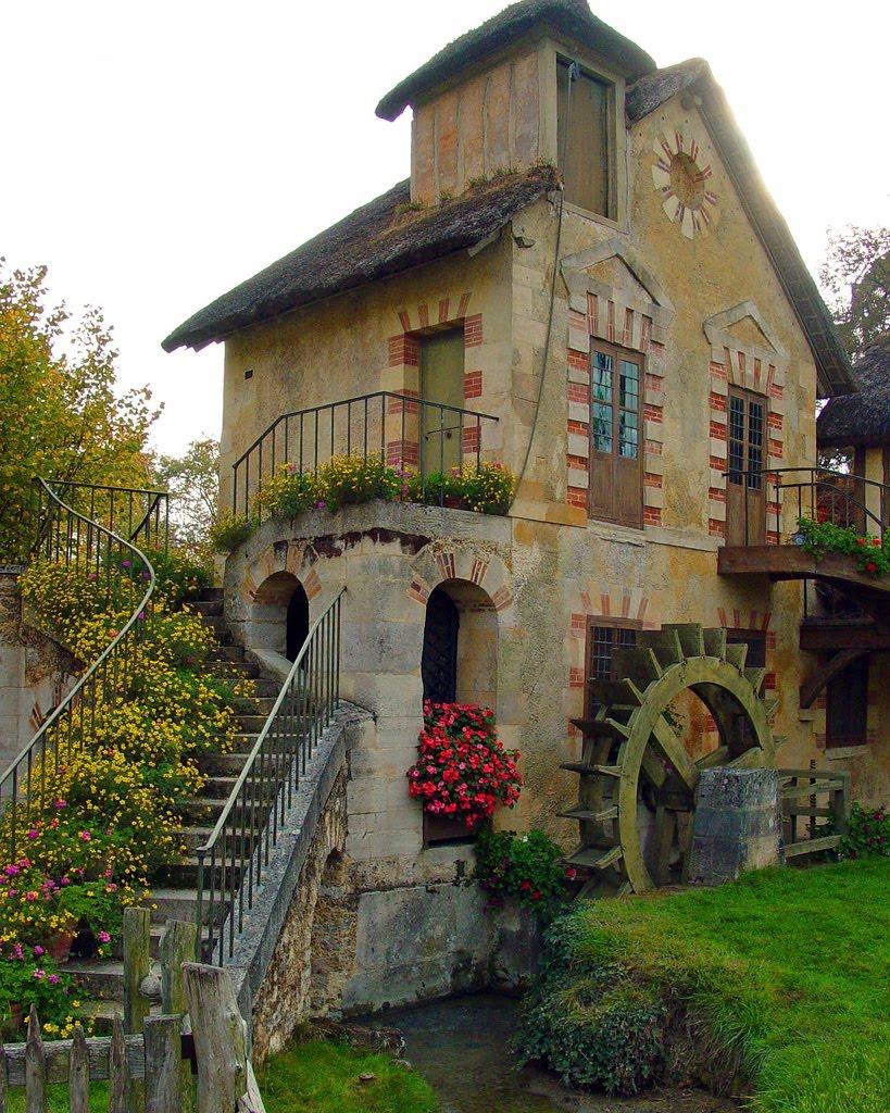 Старинные дома архитектура франции