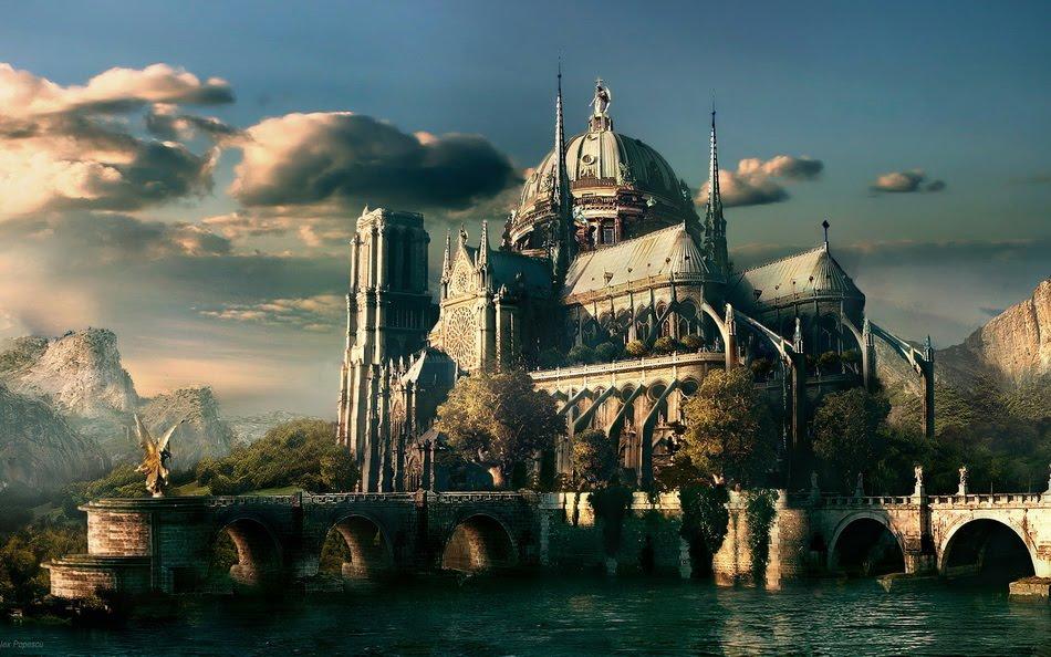 Дома и замки фэнтези