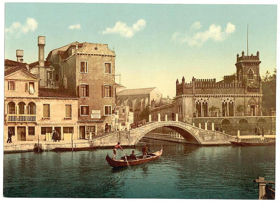 Старинные фотографии венеции