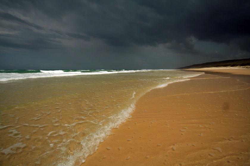 Бич rainbow beach квинсленд австралия