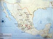 el estado de México tuvo . edomex mapa regiones