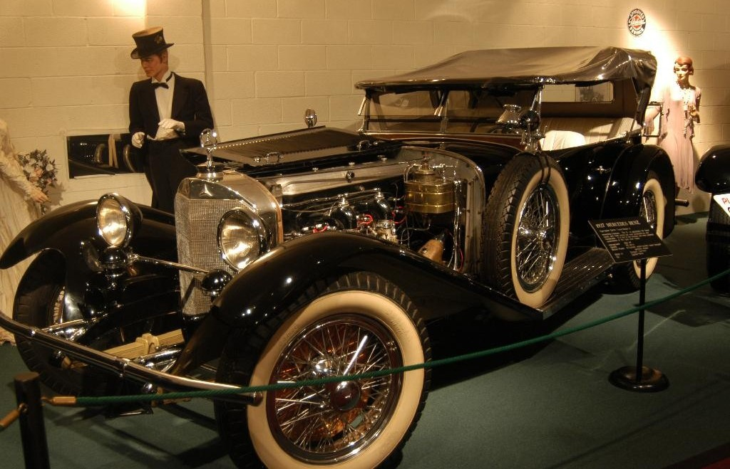 The Mercedes-Benz Model S was introduced in 1927 and produced through 1928.