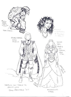 More Character Designs For Tempest