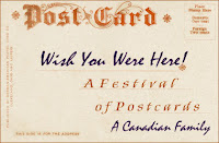 Festival of postcards