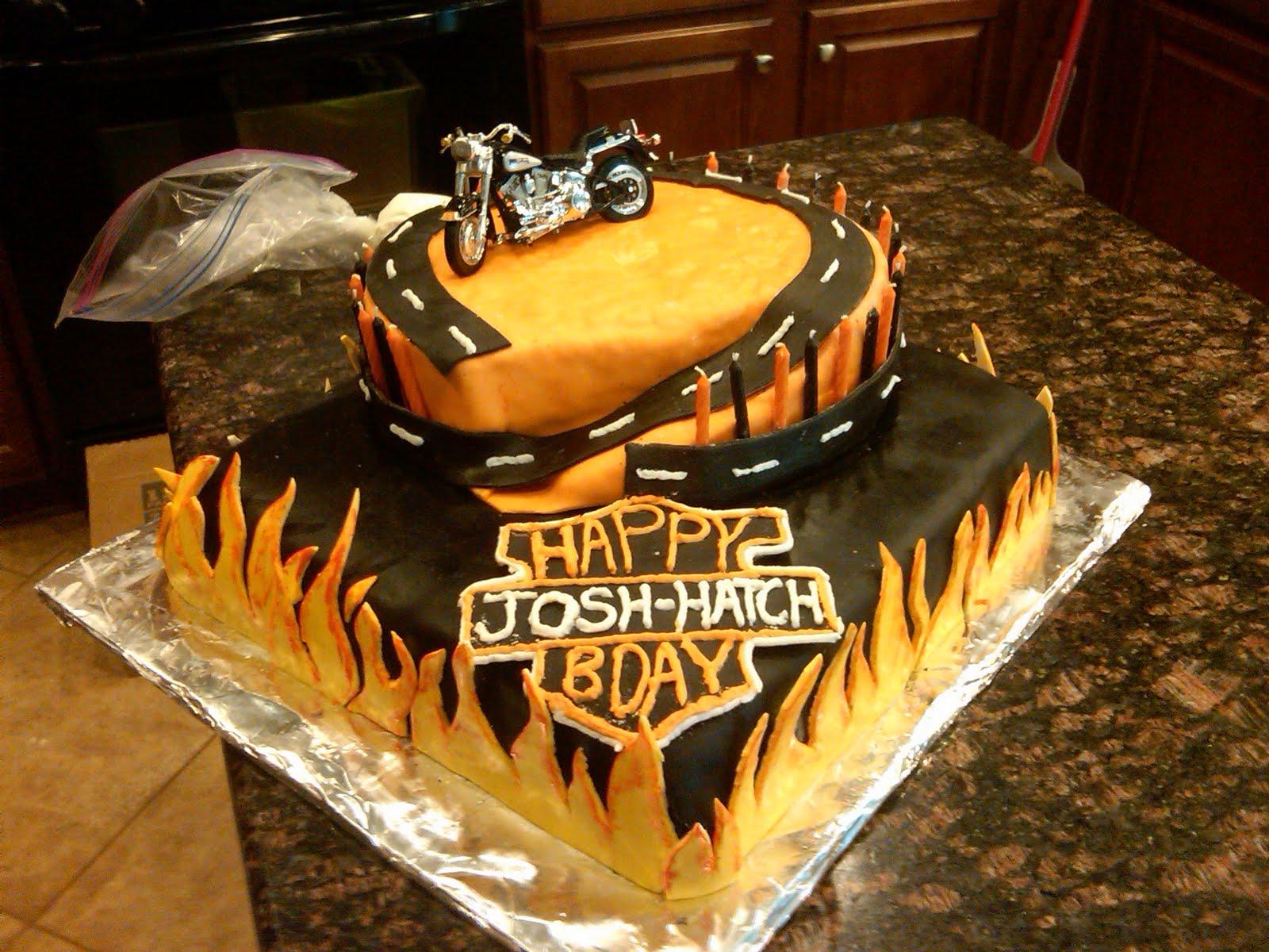 Cake Chic Harley Davidson Cake