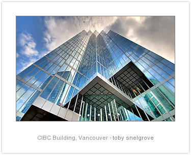 CIBC Vancouver - HDR Image