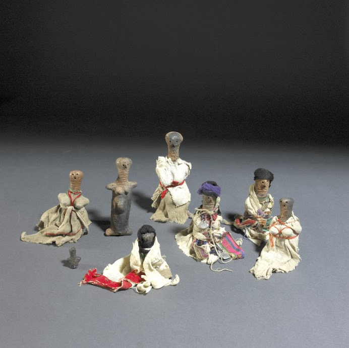 Small Dolls, Clay and Cloth